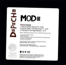 Depeche Mode: Precious Sampler PROMO w/ Artwork MUSIC AUDIO CD Vocal Mix SEALED