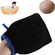 Bath Scrub Hammam Exfoliating Body Facial Black Massage Mitt Magic Peeling Glove