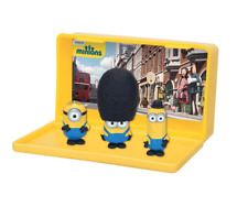 NEW Despicable Me British Minions Micro playset with 3 minions