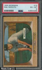 1955 Bowman #10 Phil Rizzuto New York Yankees HOF PSA 6 EX-MT