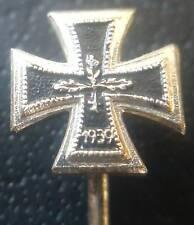 ✚8038✚ German post WW2 1957 pattern miniature pin badge Iron Cross II. Class