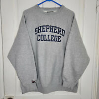 Vintage Shepherd College Shepherdstown WV Crewneck Sweatshirt Jansport Mens XL