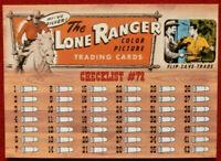THE LONE RANGER - Card #72 - Dart 1997 - CHECKLIST