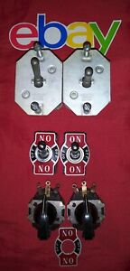 6 PC LOT Vintage ELECTRICAL Potentiometers & C-H CUTLER HAMMER SWITCHES 115V 6A