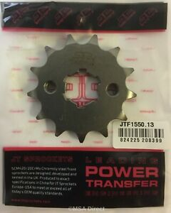 JT 13 Tooth Steel FRONT Sprocket Fits YAMAHA YZFR125 (2008 to 2020)