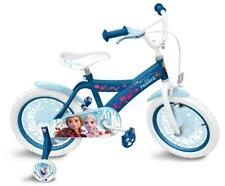 Frozen II | Kinderfahrrad mit Rücktrittbremse | 16 Zoll | blau
