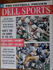 Fair Original Dell Sports Pro Football Preview 1962 Green Bay Packers