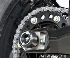Husqvarna Nuda 900R 2012 onwards R&G racing swingarm protectors bobbins black