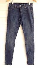 Volcom Women's Blue Skinny Jeans - Size 8