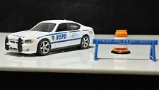 Greenlight New York Police Dodge Charger Interceptor Mint Set Included Cross
