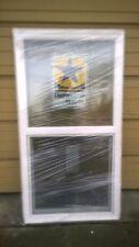 Brand New: Nice White Vinyl House Single-Hung Window 28x54