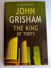 King of Torts John Grisham Signed First edition Hardback