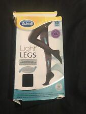 Scholl Light Legs compression tights 60 den black xl. New
