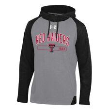 Texas Tech Red Raiders Mens Under Armour Tri-Blend Hoodie Sweatshirt - 2XL & L