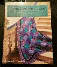 Courthouse Step Quilts Block Patterns Quilt In A Day Judy Knoechel 1995