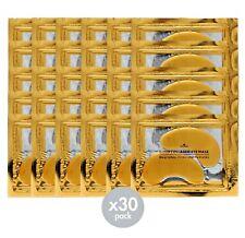 Crystal Collagen 24k Gold Under Eye GEL Mask - Anti Ageing Wrinkle Bag Remover 5 Pairs