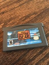 Disney's Brother Bear Nintendo Gameboy Advance GBA Cart