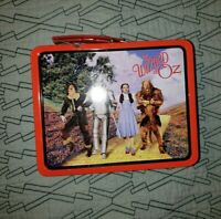 *VTG* 1998 Wizard Of Oz Lunch Box Style Tin Box. Candy Tin/Metal. Collectible.