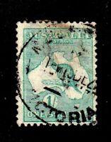 Australia stamp #51, used, 1915 - 1924 Kangaroo
