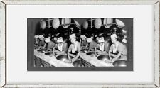 New listing Photo: Firing tea, Japan, c1926, women working at ovens in plant