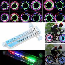 32 LED Fahrrad Speichenlicht Reflektoren Blitz Beleuchtung Radfahren Wasserdicht
