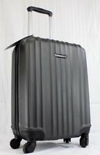 "TRAVEL SELECT TS06053 20.5"" HARDSIDE CARRY ON SPINNER SUITCASE CHARCOAL"