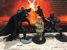 STAR WARS Sith Assortment DARTH VADER,ANAKIN,DARTH MAUL PVC figures