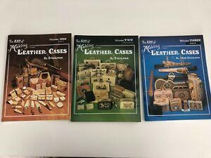 Art of Making Leather Cases 3 Volume Set Instructional Booklets