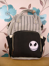 Baby Changing Bag/rucksack - Jack Night before Christmas logo