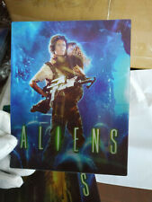 ALIENS - Multi Image Lenticular 3D Flip Magnet Cover FOR bluray steelbook