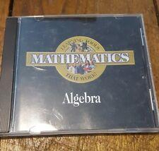 Pro One Mathematics Algebra (Cd-Rom) Windows ProOne 720286201020