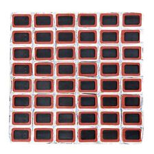 48Pcs Bike Bicycle Tire Tyre Tube Puncture Square Glueless Patches Repair Tool