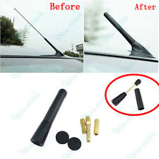 1x Car Black Carbon Fiber Antenna Aerial Stubby Bee Sting For Holden Captiva