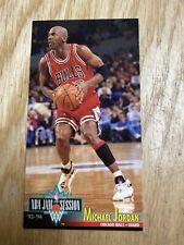 1993-94 Fleer Jam Session Michael Jordan Chicago Bulls Tall Card #33