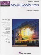 Popular Songs Movie Blockbusters Intermediate Piano Solo Sheet Music Book