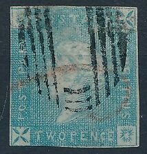 [6887] Mauritius good classic stamp fine/very fine used. Small thin