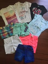 Girls Shorts & T-Shirts - Size 7/8 - NICE LOT! Old Navy, TCP, Justice, Cherokee