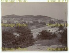 OLD CHINESE ALBUMEN PHOTO VIEW OF TSINGTAO CHINA VINTAGE C.1900