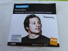 VIANNEY - NOUVEL ALBUM !!!!!!!!!!!!PLV 30 X 30 CM !!!!!!!!!!!!!!!!!!