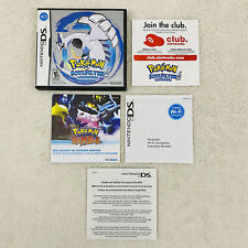 Pokemon Soul Silver Version Nintendo DS 2010 Case & Inserts ONLY NO GAME MANUAL