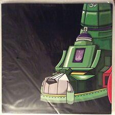 """DJ QBERT / SUPER SEAL """" GIANT ROBO V. 4 RIGHT FOOT 12""""  OPAQUE VINYL ROBOT"""