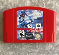 N64 Jeremy McGrath Supercross 2000 Nintendo 64 Cartridge Cleaned & TESTED VG+