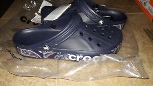 NEW Mens Crocs Bayaband Bandana Clog Shoes, size 10