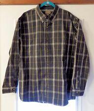 NWT Men's LS Schmidt Workwear Shirt LS Button Up Shirt Size XL