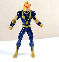 Marvel Ultimate Spiderman Human Rocket Nova Action Figure 6 Inch Hasbro 2012