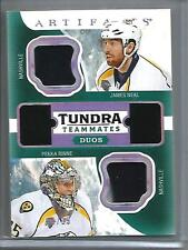 James Neal-Pekka Rinne 16/17 Upper Deck Artifacts Game Used Jersey Patch #14/15