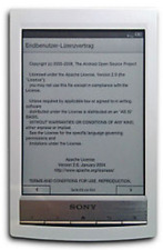 SONY E-Reader PRS-T1 E-Book Reader integrierte Licht Digital Book Buch PRS T1