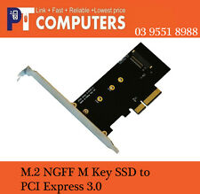 PCI-E 3.0 x4 Lane Host Adapter Converter M.2 NGFF M Key SSD to Nvme PCI Express