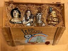Wizard of oz set 4 blown ornament glass xmas tree holiday Polonaise Collection