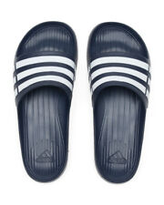 ADIDAS Duramo Slide Performance Rubber Sandals Navy Size 12